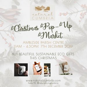 NATURAL CUMBRIA ALTERNATIVE CHRISTMAS MARKET @ Ambleside Parish Centre